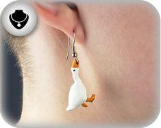 Weird Jewelry, Funky Jewelry, Cute Jewelry, Jewelry Accessories, Funky Earrings, Diy Earrings, Unique Earrings, Accesorios Casual, Custom Earrings