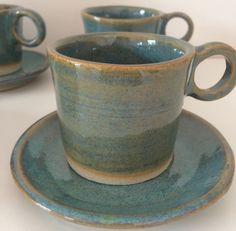 Conjunto de xícaras de cafe