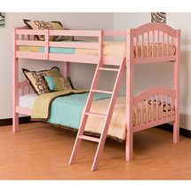 bedroom furniture, cottage retreat ii bunk bed with trundle