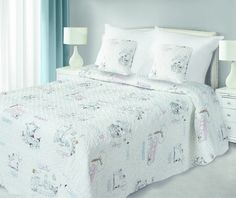 Krémový přehoz do dětského pokoje Comforters, Blanket, Furniture, Design, Home Decor, Lush, Creature Comforts, Quilts, Decoration Home