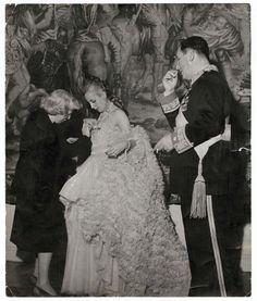 Eva Peron in Dior, Theatre Colon, Buenos Aires, July 9, 1950