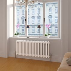 If you like traditional stylish radiators, you need to see the white triple panel colosseum radiator. A classic column radiator style, with optimum heat output. Bedroom Radiators, Column Radiators, Modern Radiators, Traditional Radiators, Horizontal Radiators, Room Feng Shui, Fireplace Remodel, Bedroom Fireplace, Houses