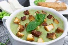 hrášková polévka, recept