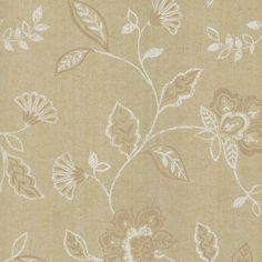 Floral, without being too flowery, this designer wallpaper creates depth and style on walls. A soft golden stripe texture is enhanced by tactile jacobean accents in cream and beige. Adelise Beige Jacobean Wallpaper is a unpasted, non woven wallpaper. Cream Wallpaper, Home Wallpaper, Brewster Wallpaper, Jacobean, H Style, Off Colour, Beige Color, Memorable Gifts