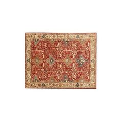 Pottery Barn Channing Persian-Style Tufted Wool Rug ($1,599) ❤ liked on Polyvore featuring home, rugs, pottery barn area rugs, handmade persian rugs, pottery barn rugs, hand-tufted wool rug and hand made rugs