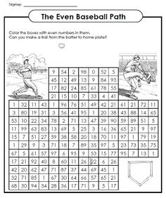 Super Teacher Worksheets has a large selection of Odd and Even worksheets to help teach students the difference between odd and even numbers.