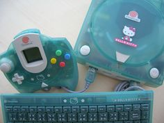 hello kitty dreamcast console -