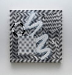 Visually Disorienting Paintings by Johnny Abrahams Photo