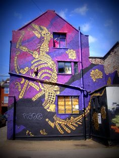 Croft Fossil par Andy Council, Bristol - www.street-art-avenue.com #Street #Art