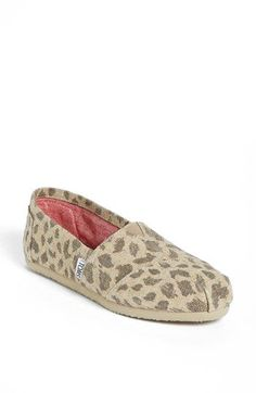 TOMS 'Classic - Leopard' Slip-On (Women) available at #Nordstrom
