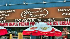 incredible seafood at Glenn's Diner Maple Pecan Pie, Chicago Things To Do, Ice Crea, Fresh Seafood, Chicago Restaurants, Diners, Prepping, The Incredibles, Restaurants