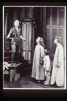 March 7th1955 The Original Broadway Cast Of Peter Pan Starring Mary Martin As
