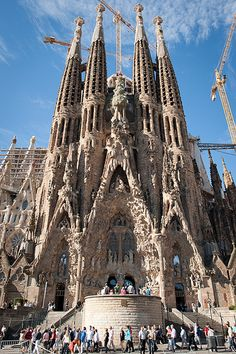 Sagrada Familia Cathedral, Barcelona, Spain