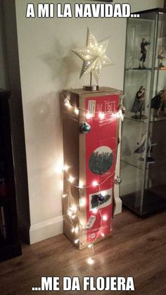 """#Humor """"A mi la #Navidad me da #Flojera"""". @candidman #Chistes #Memes"""