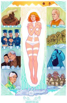 The Fifth Element Artbook by JEN BARTEL