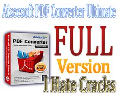 Get Aiseesoft PDF Converter Ultimate With 1 Year Registration Code