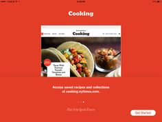 NYT Cooking美食应用iPad界面设计,来源自黄蜂网http://woofeng.cn/