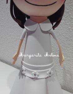 Muñequita primera comunión | Margarita Molona