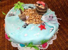 Пиратский торт (наполеон)