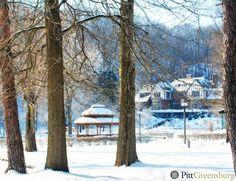 Lynch Hall at Pitt-Greensburg.  #H2P #Winter #Campus #Scenic @laurelhighlands  #Pitt #Snow #Pittsburgh #Pennsylvania #CollegeLife #Pgh