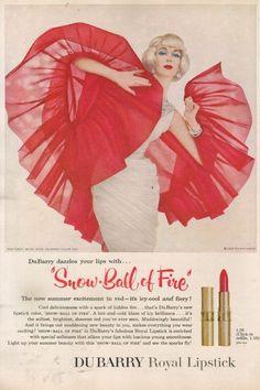 Lipstick Ad, 1959