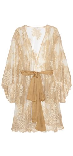 Lace robe...wedding night!