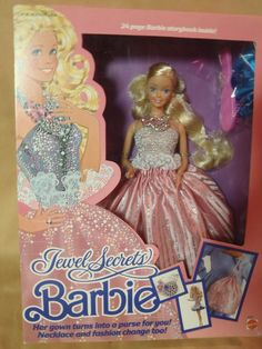 NEED - 1986 Jewel Secrets Barbie. I only have the bag/dress thing :(