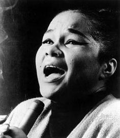 Etta James............... no words can describe the voice of Etta