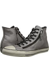 Converse by John Varvatos  Chuck Taylor All Star Double Zip Silver Brushed Leather