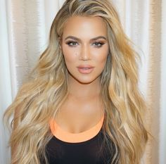 Khloe kardashian - make up by Mario