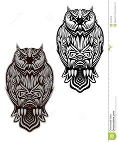 Tribal Owl #Tattoos For Women Bird Tattoo
