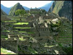Leaving the Ruins of Machu Picchu - Machu Picchu, Cusco
