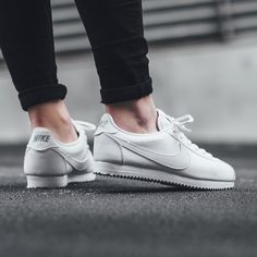 """""""NEW IN!  Nike Cortez (GS) - WHITE  available now in-store and online @titoloshop Berne 