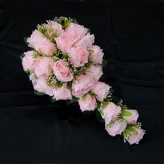 Wedding Flowers - $14.89 - Fascinating Cascade Satin Bridesmaid Bouquets  http://www.dressfirst.com/Fascinating-Cascade-Satin-Bridesmaid-Bouquets-123031473-g31473