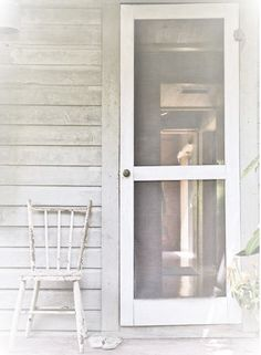 porches with old screen doors take me back to a very happy time in my life.childhood at my Grandparents' Country Farmhouse, Country Life, Country Style, Country Living, Farmhouse Door, Country Porches, Southern Living, Country Charm, Front Porches