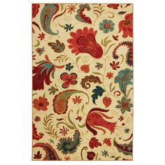 Mohawk Home Select Strata Tropical Acres Area Rug