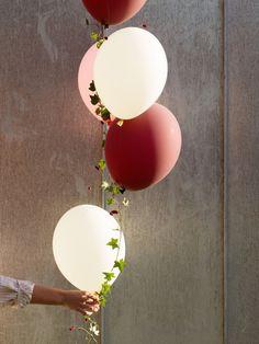 Schöner als mit Blumen und Pflanzen kann man einen Ballon gar nicht dekorieren! <3 #tollwasblumenmachen #flower