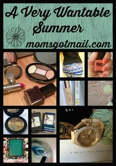 A collage of some of my favorite things from my summer wantable boxes! Just $36 per month, read all the reviews on my blog, Momsgotmail.com.