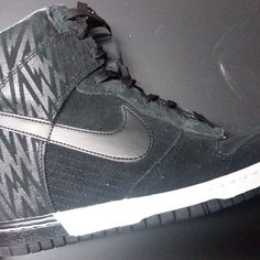 new styles b7b63 3ca14 Shop Women s Nike Black size 10 Shoes at a discounted price at Poshmark.  Description  Like new condition, women s size 10 Nike Sky Hi Dunk wedges.