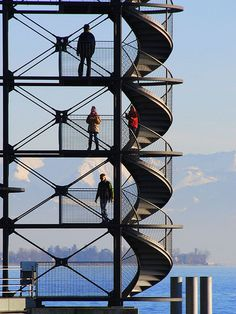 voyeurism and architecture   watching tower