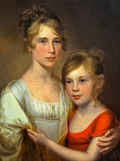 James Peale - Anna and Margaretta Peale, 1805 at Pennsylvania Academy of the Fine Arts - Philadelphia PA