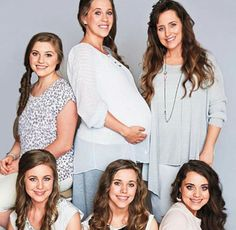 """Duggar Ladies: """"Trapped"""" In a Harmful Cult Supply Claims Duggar Sisters, Duggar Girls, Dugger Family, 19 Kids And Counting, Bates Family, Reality Tv Shows, Big Family, Favorite Person, Gorgeous Women"""