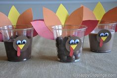 20 Thankgiving ideas for kids. Cute things from class room parties to treats and crafts