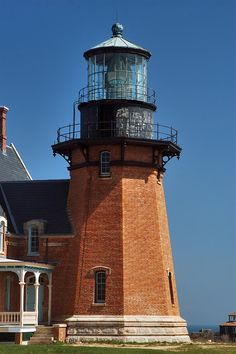 Southeast Lighthouse, Block Island - imgoingcoastal.  My Dad was stationed here in the Coast Guard.  I was born on Block Island, Rhode Island!