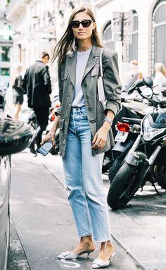 Así Es Como Las Fashion Girls Están Usando La Chaqueta Militar | Cut & Paste – Blog de Moda
