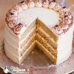 Coffee Sponge Cake, Coffee Cake, Mocha Cake, Tres Leches Cupcakes, Chocolate Tres Leches Cake, Food Cakes, Cupcake Cakes, Frosting Recipes, Birthday Cakes