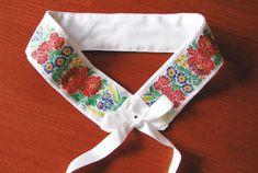 Floral Tie, Folk, Sewing, Accessories, Punto De Cruz, Dots, Dressmaking, Popular, Couture