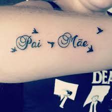 Resultado de imagem para tattoo mãe e pai