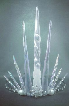 Ultimate Ice Queen Tiara Crown - Icicle Tiara - Ice Queen Costume