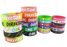 23pcs 1d Bracelet Lot POP Band Silicon Wristband One Direction Series. $16.99. Quality Printing and Waterproof. 23 Different Color 1d Wristband